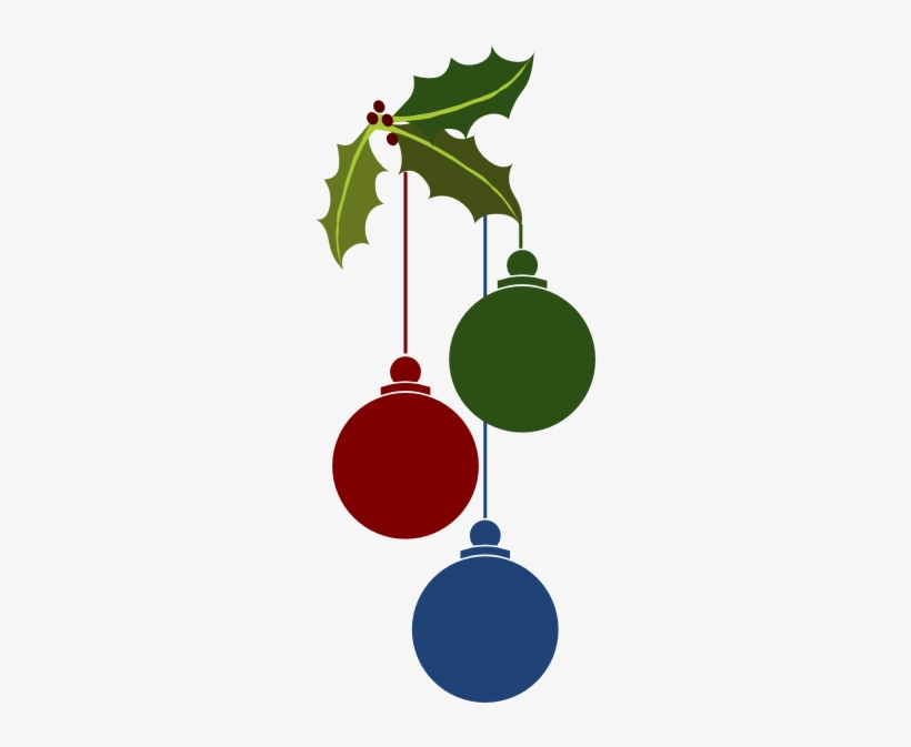 Hanging Christmas Ornament Png For Kids - Christmas Ornaments Vector Png, transparent png #840564