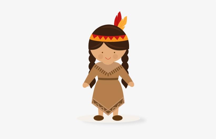 Native American Transparent Download Free Download - Native American Girl Clip Art, transparent png #840612
