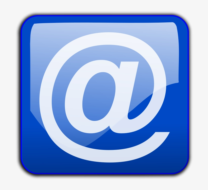 This Graphics Is Email Button About Buttons, Buttons, - E Mail Button Png, transparent png #840798