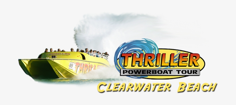 Tour Boats Inc - Clearwater Beach Speed Boat, transparent png #840925