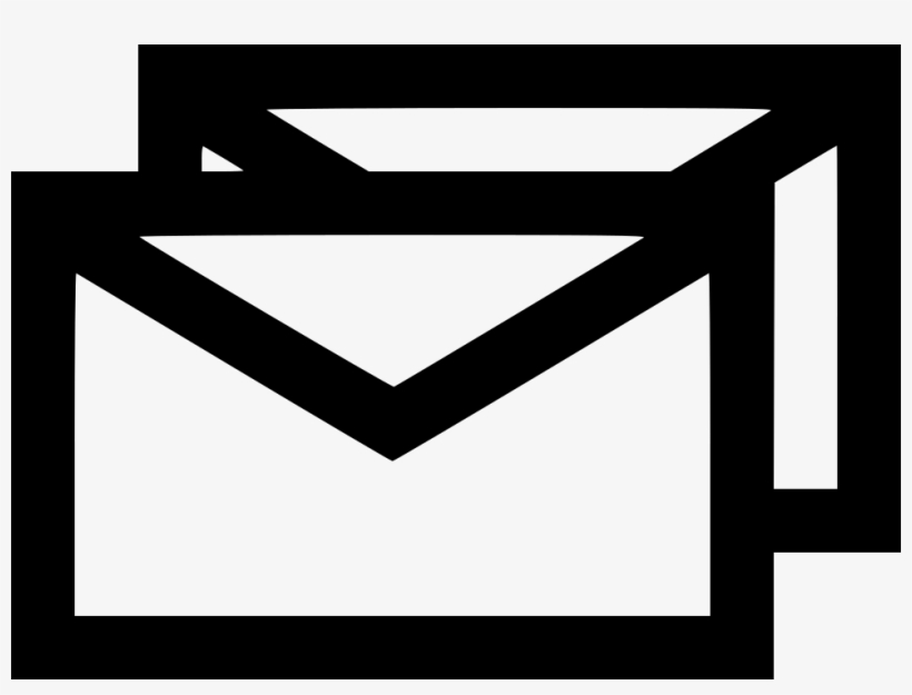 Main Message Envelope Email Text Multiple Combo Comments - Multiple Email Icon Png, transparent png #841036