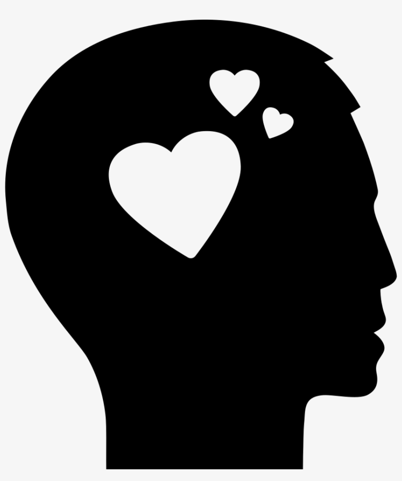 Man Thinking About Love Comments - Silueta Persona Pensando, transparent png #841339