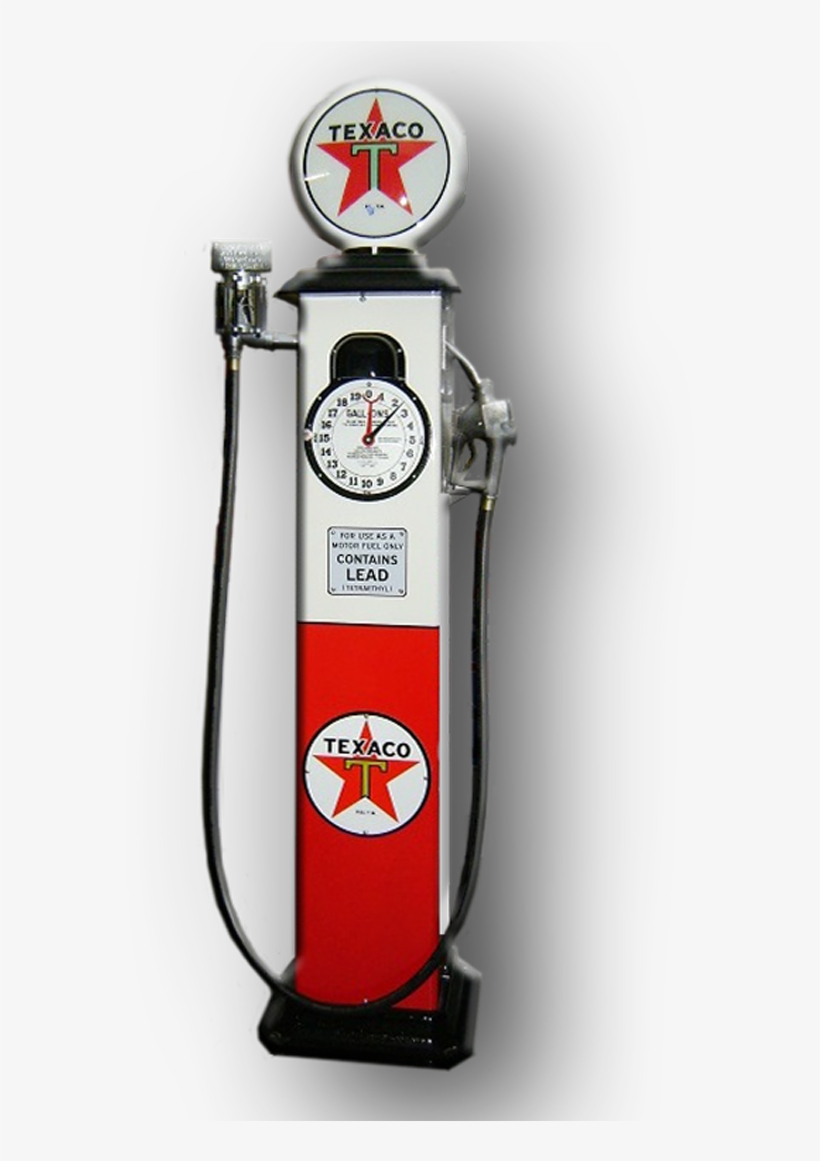 Texaco 1929 Clock Face Reproduction Gas Pump - Gas Pump