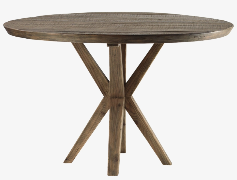 Round Wooden Dining Table, Round Kitchen Tables, Reclaimed ...