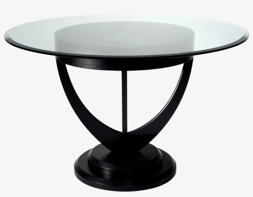 Glass Table Png - Glass Dining Table Png, transparent png #845287
