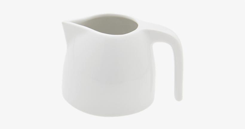 Dune White Milk Jug 15 Cl - Ceramic, transparent png #845522