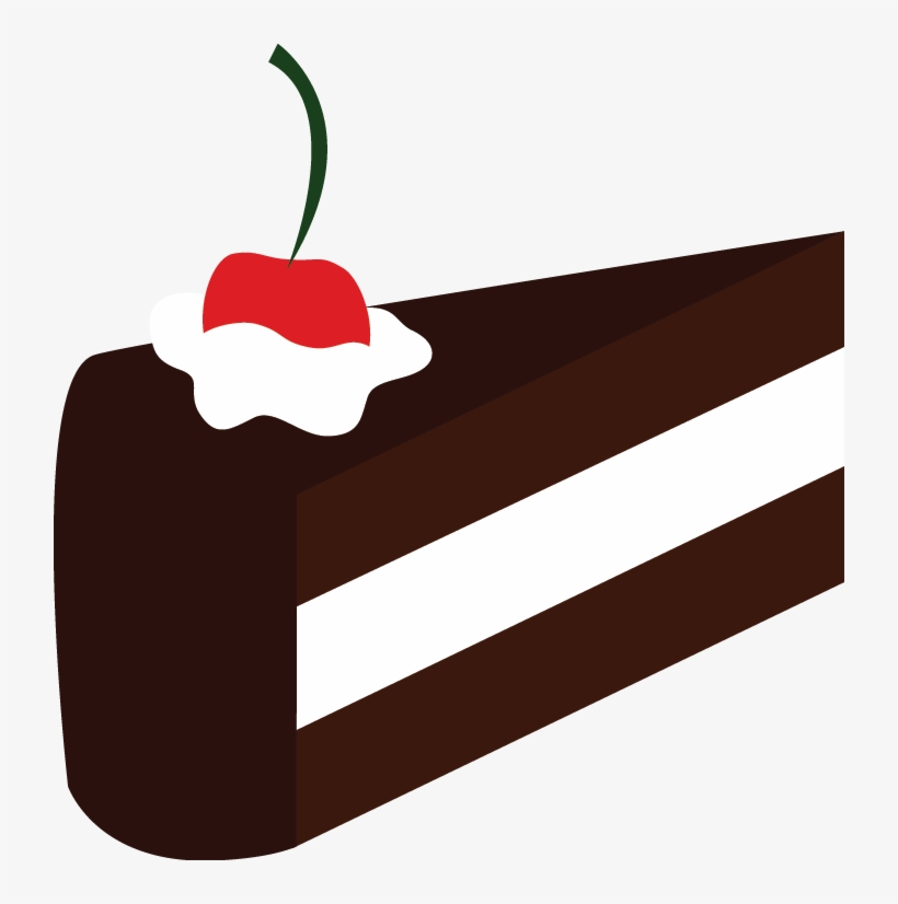 A Slice Of Cake By Artbyslider On Clipart Library Piece Of Cake Vector Png Free Transparent Png Download Pngkey