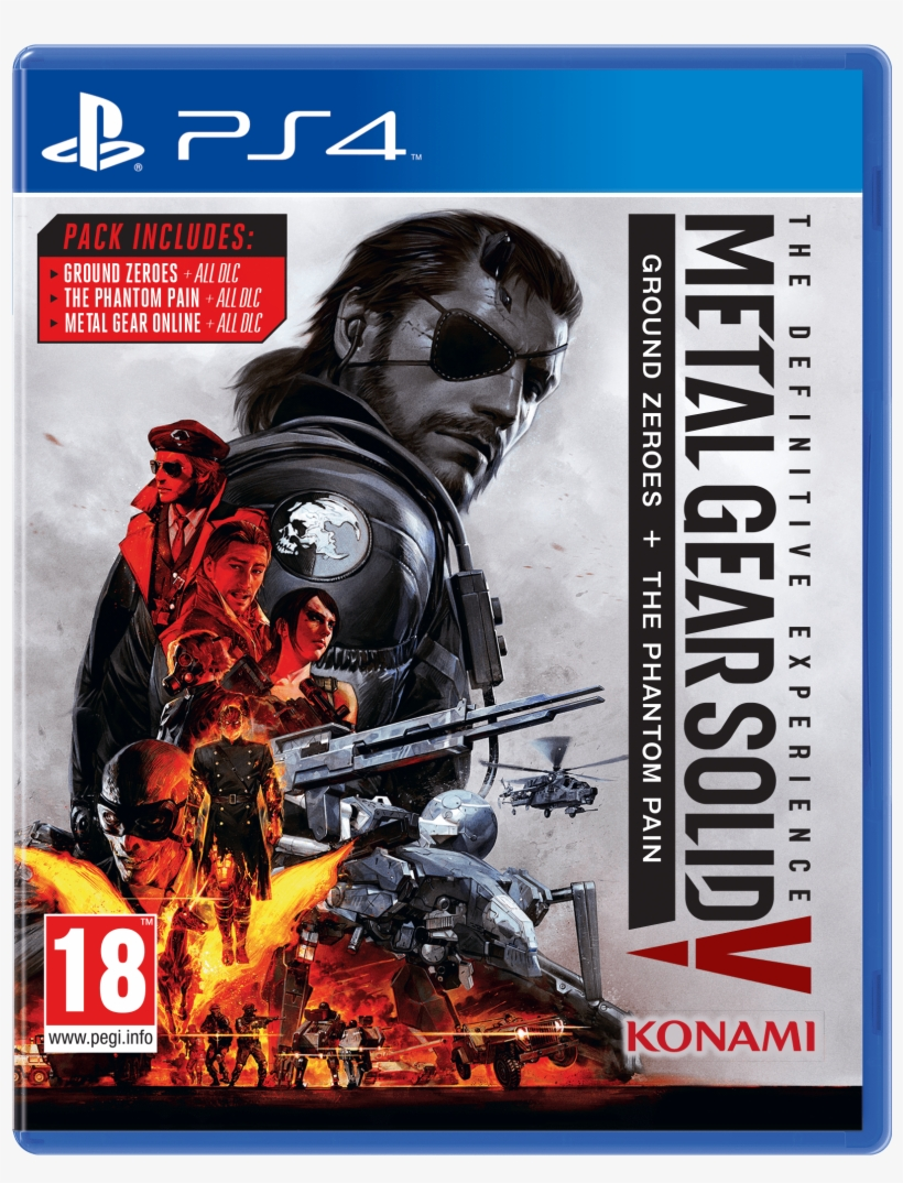 Metal Gear Solid V - Metal Gear Solid V Definitive Experience Ps4, transparent png #847276