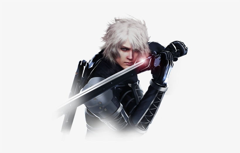Metal Gear Solid - Playstation All Stars Raiden, transparent png #847468