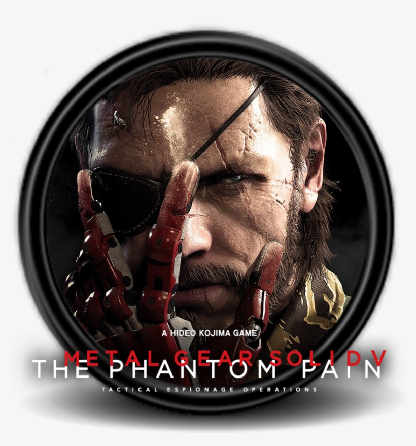 Metal Gear Icon - Metal Gear Solid V Icon, transparent png #847603