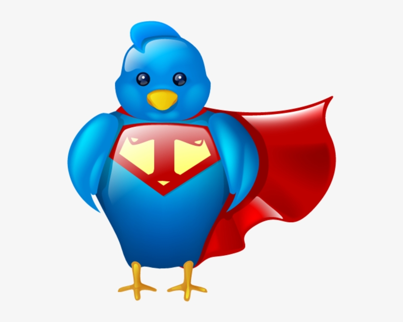 Super Twitter - Twitter Icons, transparent png #848128