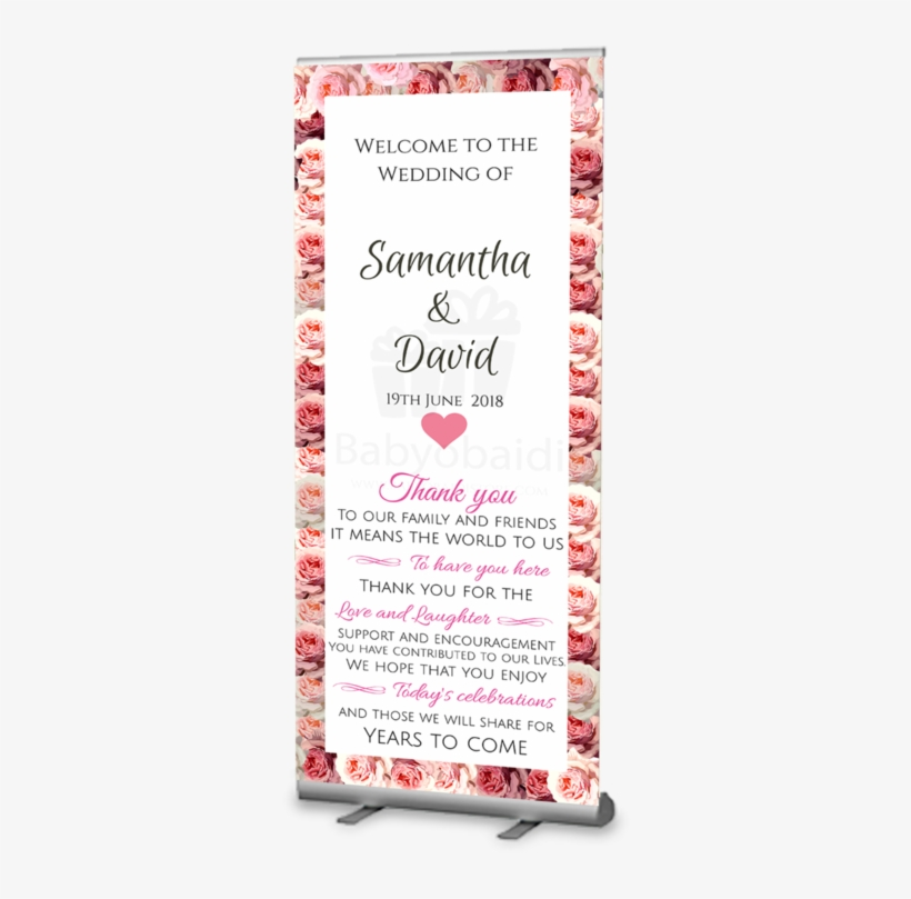 Wedding Welcome Banner Wedding Welcome Banner Design Free Transparent Png Download Pngkey