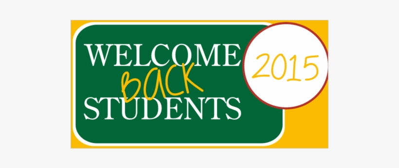 Welcome Back Students Vinyl Banner With Chalkboard - Welcome Students Banner, transparent png #8400758