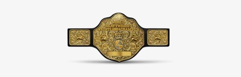 Big Gold Belt - Wcw Heavyweight Championship Belt, transparent png #8404125