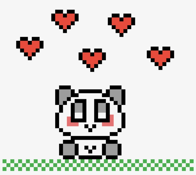 Cute Panda Pixel Art Koala Kawaii Free Transparent Png