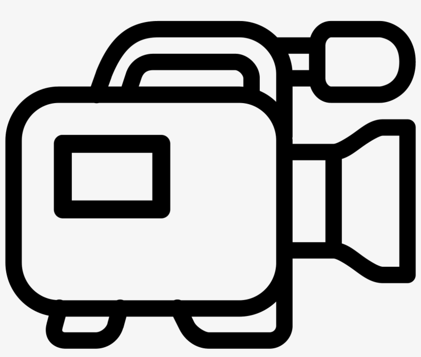 Video Camera Icon In Iphone Style - Video Camera Icon, transparent png #8408324