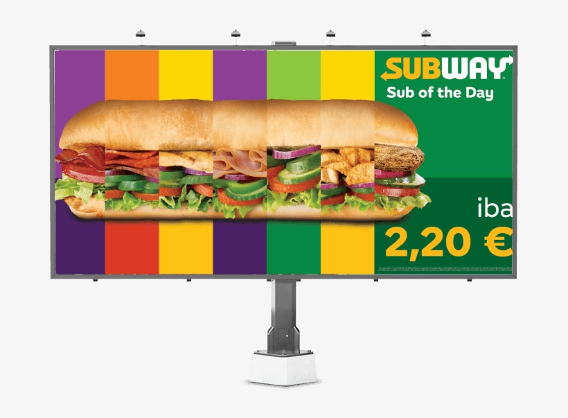 Since 2013 We've Been The Marketing Agency For Subway®, - Fast Food, transparent png #8409954