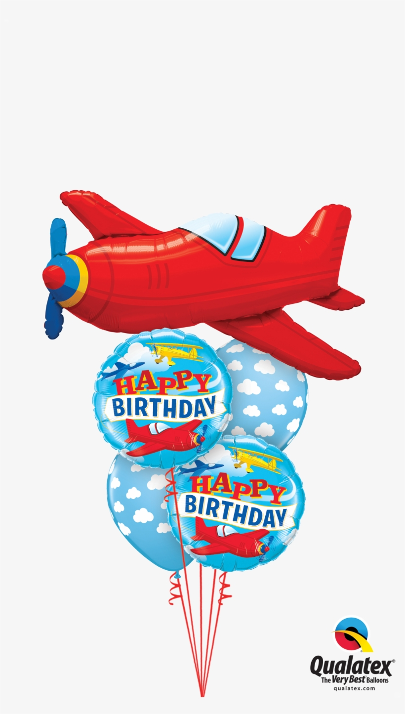 Baby Shower Balloons Aeroplanes, transparent png #8422131