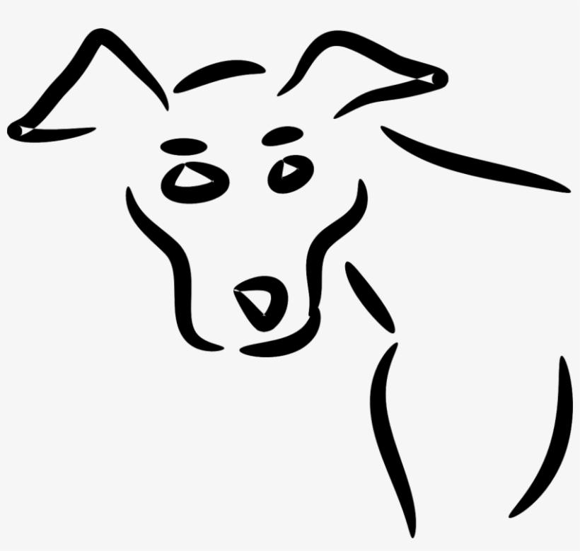 Retrato De Perro No Al Maltrato Animal Dibujos Faciles