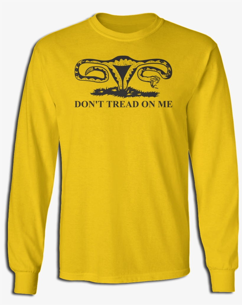 Don't Tread On Me - Long-sleeved T-shirt, transparent png #8432356