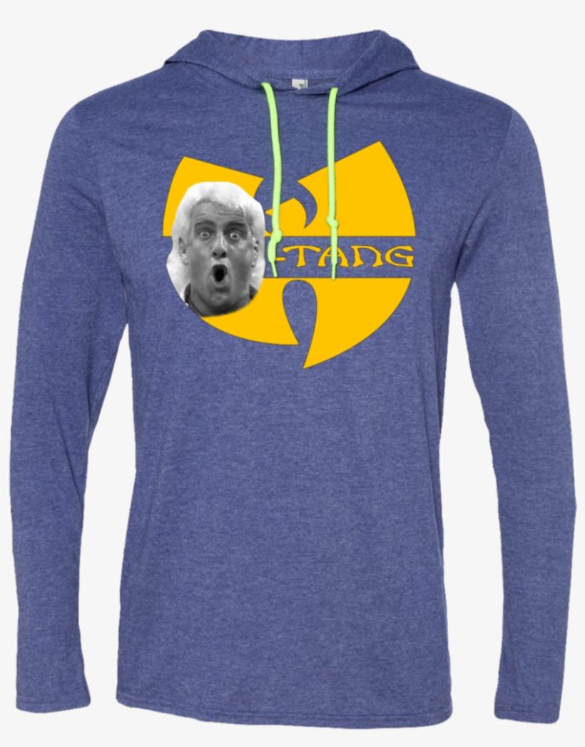 Wu Tang Ric Flair Hoodie Straight Hoodie - Sweatshirt, transparent png #8432403