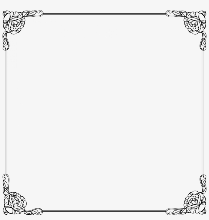 Certificate Borders Templates For Word Free Download - Certificate Frame Design Png, transparent png #8433341