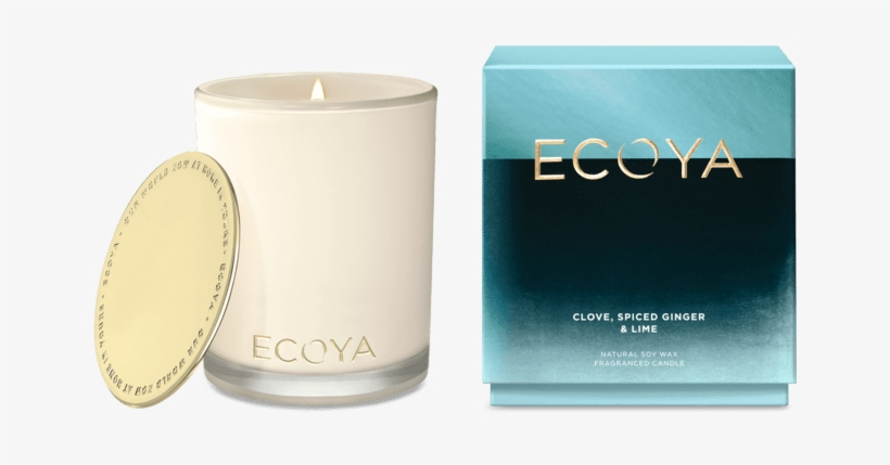 Ecoya Clove, Spiced Ginger And Lime Candle Rrp $44 - Ecoya Fresh Pine Candle, transparent png #8434538