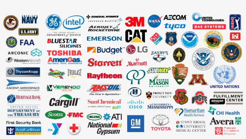 That's Why We're Trusted By These Companies - Cctv Camera Made In Usa, transparent png #8435454