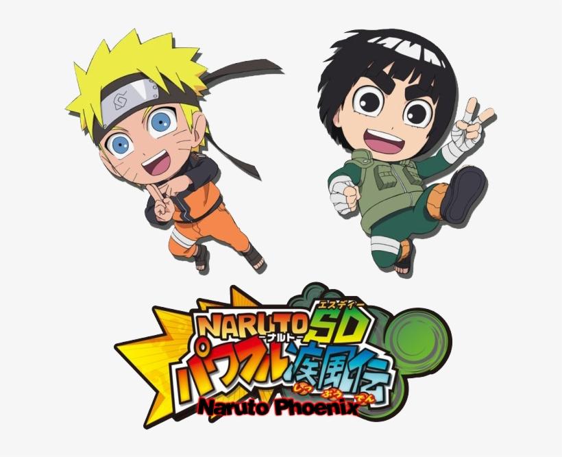 Eae Galera Trago O Segundo Trailer Do Game Rock Lee - Chibi Naruto, transparent png #8436806