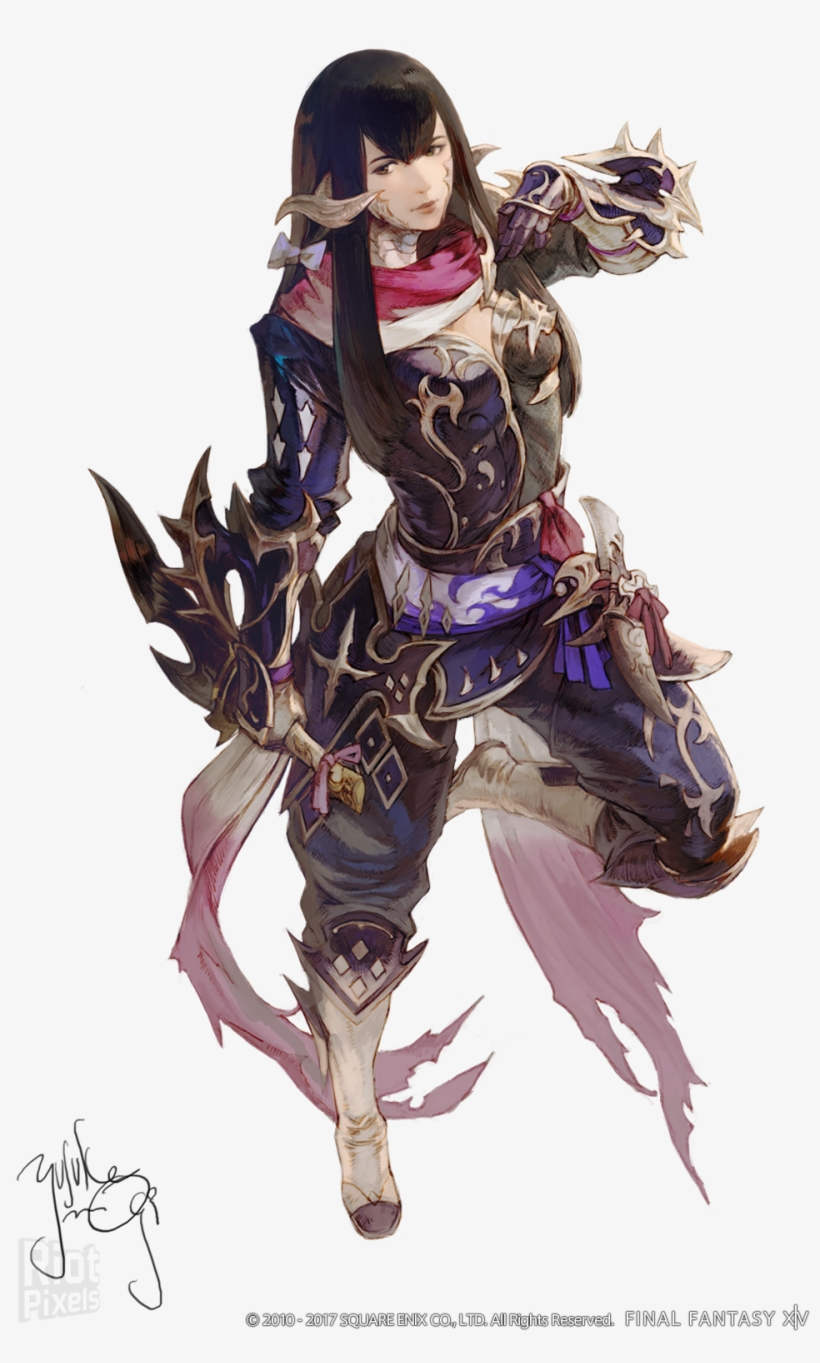 Lyse Final Fantasy Xiv Concept Art, transparent png #8437237