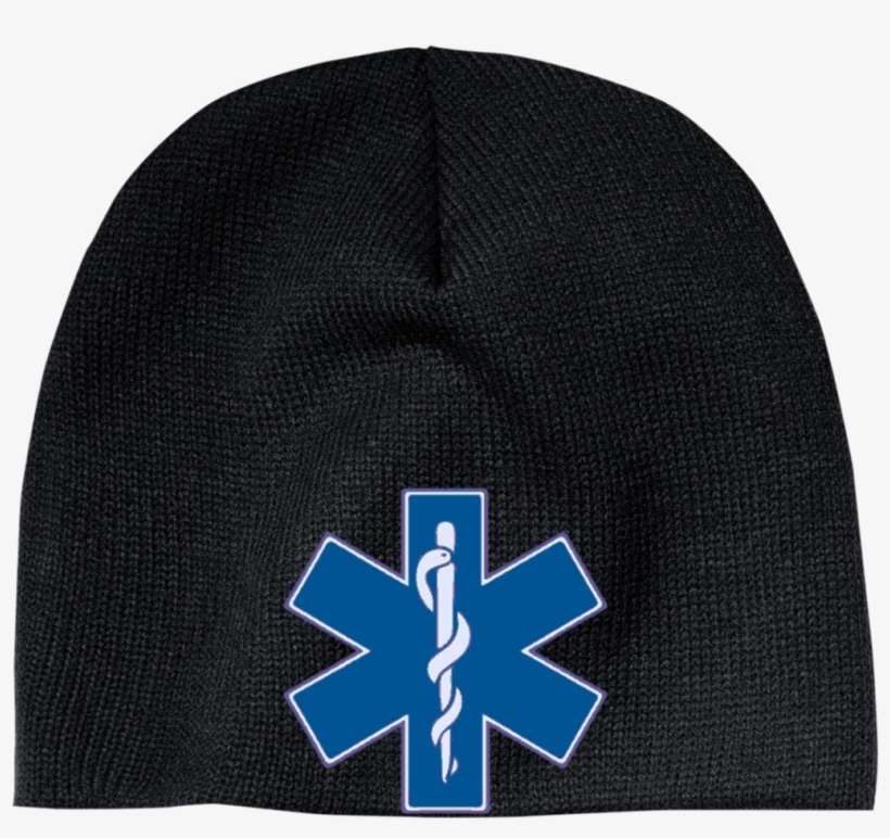 Star Of Life Blue Beanie - Star Of Life, transparent png #8441435