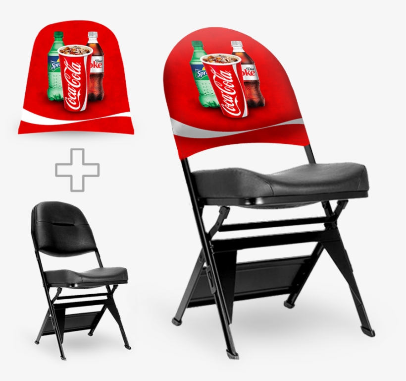 Chair Wear Signage Bags - Branded Folding Chair, transparent png #8441765
