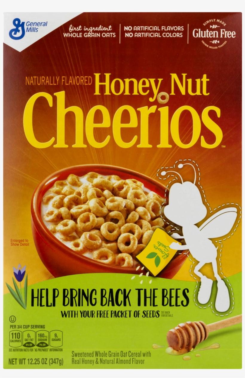 Honey Nut Cheerios™ Gluten Free Cereal - Honey Nut Cheerios Cereals, transparent png #8449262