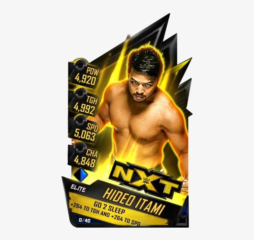 Hideoitami - Common Hideoitami - Uncommon Hideoitami - Wwe Supercard Ultimate Cards, transparent png #8451172