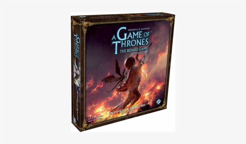 A Game Of Thrones The Board Game - Mother Of Dragons Board Game, transparent png #8452364
