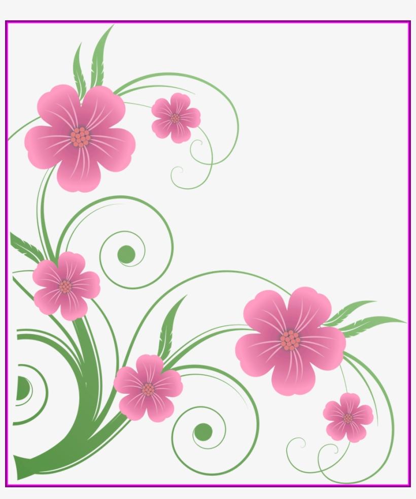 Spring Clipart Transparent Background - Flowers Clip Art, transparent png #8453329