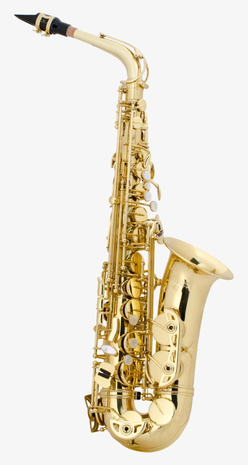 Alto-sax - Henri Selmer Paris As42 Alto Saxophone, transparent png #8453555