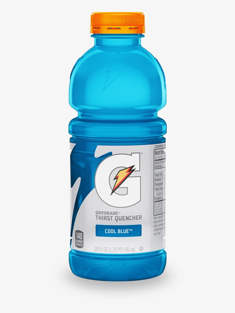Clean Sports Hydration For The Modern Athlete 50% Less - Gatorade Fruit Punch 20 Oz, transparent png #8454111