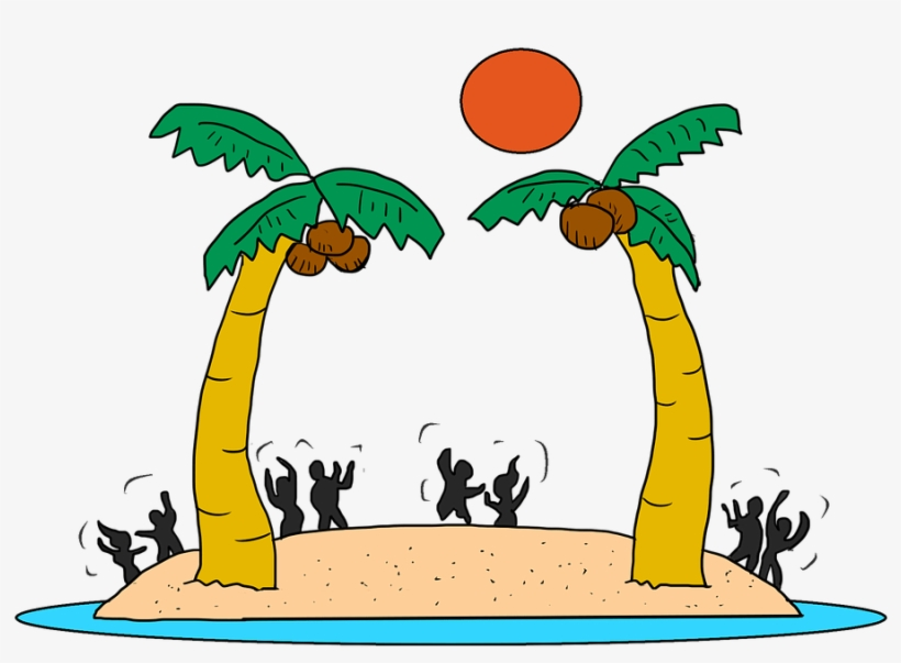 This Will Be Our Only Chance To Dance Together At The - Cartoon Beach Party, transparent png #8457254