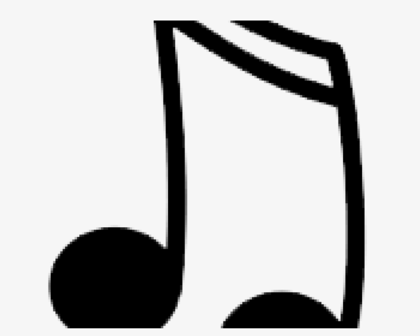 1485236770 Nota - Music Note Clipart Black And White, transparent png #8459542