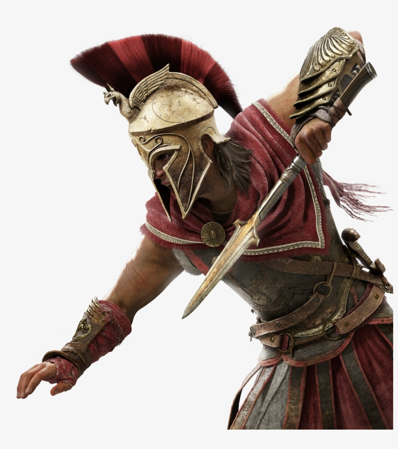 Log In / Register - Assassin's Creed Odyssey Alexios, transparent png #8464585