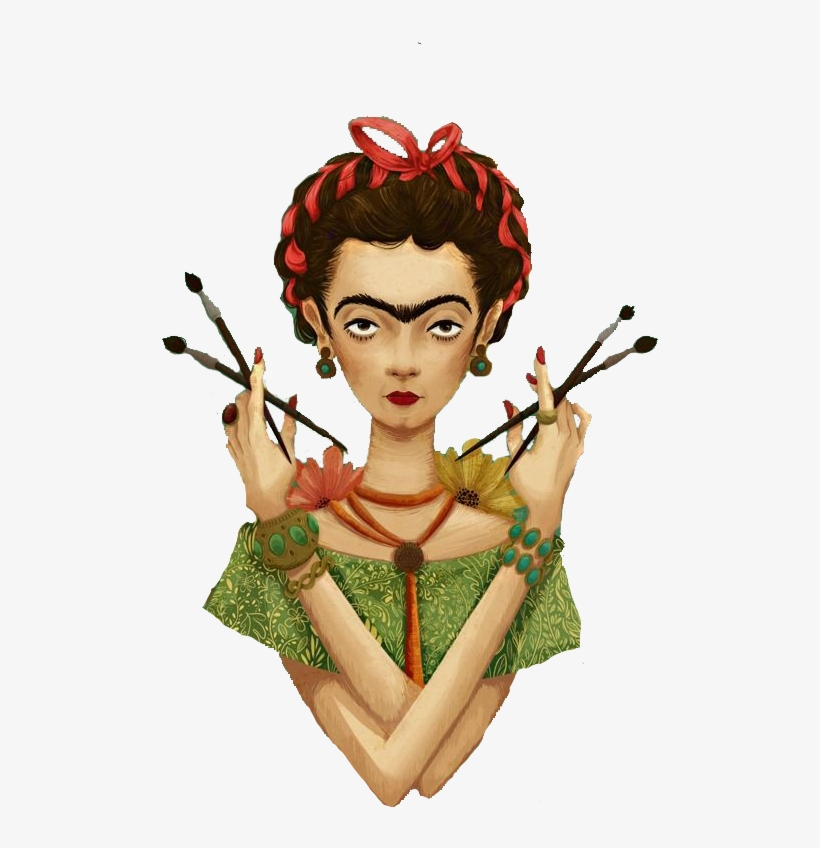 A Woman Who Stole Our Hearts With Her Courage And Her - Frida Kahlo, transparent png #8464724