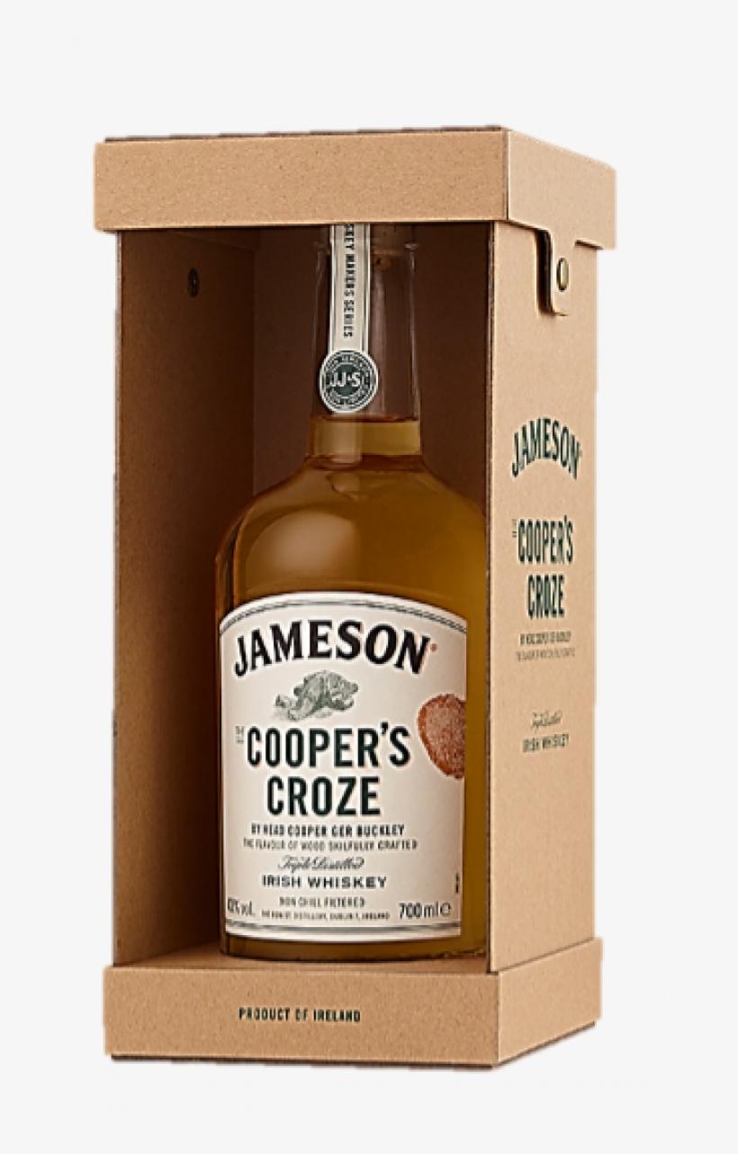 Jameson Cooper's Croze Irish Whiskey 70cl - Jameson Irish Whiskey, transparent png #8465122