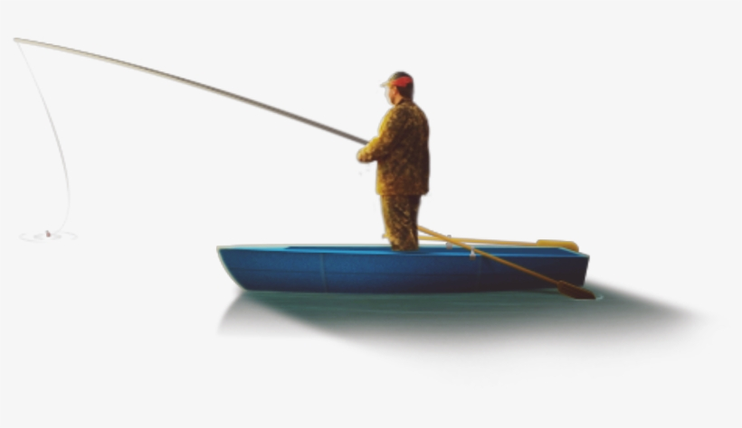 Mq Man Boat Fishing Blue Water Nature Fisherman Free Transparent Png Download Pngkey