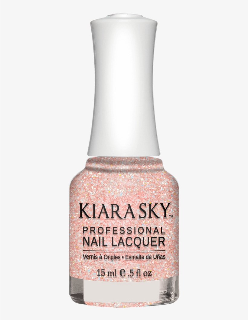 N496 Pink Of Sparkle - Nail Polish, transparent png #8470411