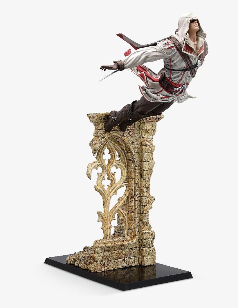 Assassin's Creed - Figurine Assassin's Creed Ezio, transparent png #8472070