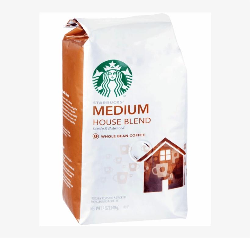 Starbucks Medium Breakfast Blend Whole Bean Coffee - Starbucks Colombia Coffee Whole Beans, transparent png #8472370