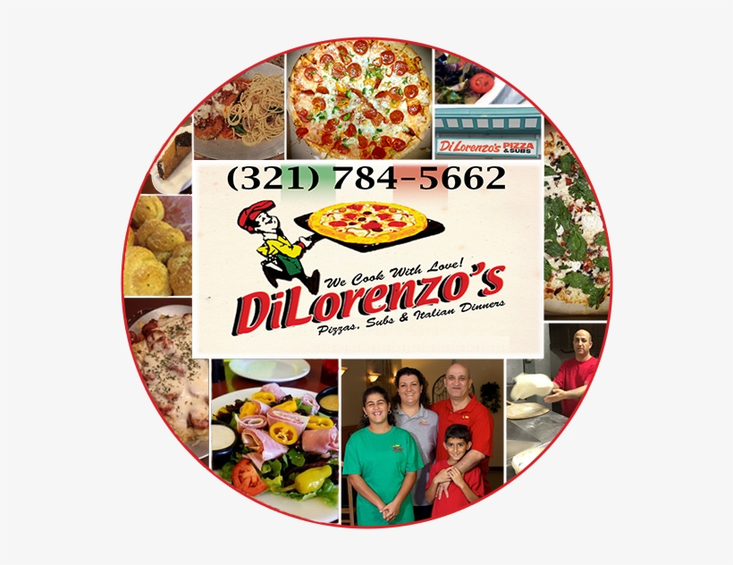 Dilorenzo's Pizza And Subs Is A Family Owned And Operated - California-style Pizza, transparent png #8473614