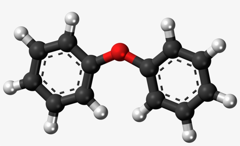Diphenyl Ether 3d Ball - Cocaine Ball And Stick Model, transparent png #8474083
