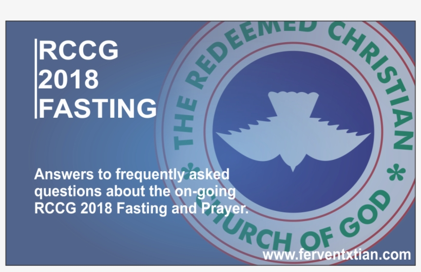Rccg 2018 Fasting - Redeemed Christian Church Of God, transparent png #8479900